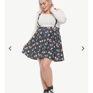 Suspender Skirt Hello Kitty My Hero Characters L